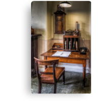 Victorian Pharmacy Office Canvas Print