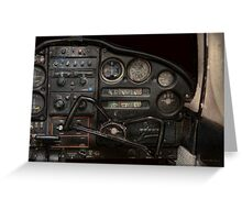 Airplane - Piper PA-28 Cherokee Warrior - A warriors view Greeting Card