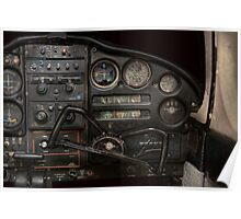 Airplane - Piper PA-28 Cherokee Warrior - A warriors view Poster
