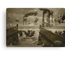 Beach landing Hoth Canvas Print