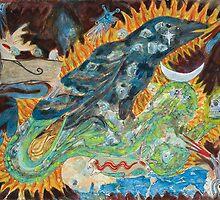Sedna & the Raven by Rowan Farrell