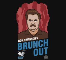 Ron Swanson's BrunchOut by BiggStankDogg