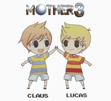 Mother 3/ Earthbound 2 Chibis by theglisett1