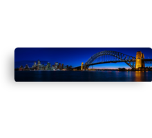 Sydney Skyline Panorama Canvas Print
