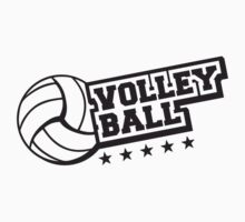 Volleyball Star Logo by Style-O-Mat