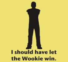 Let the Wookie win Kids Clothes