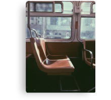 San Francisco Seat Canvas Print