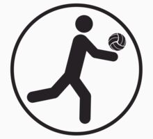 Volleyball Circle Icon by Style-O-Mat