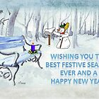Wishing you the best Festive Season ever! by Maree  Clarkson