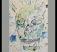 Portrait of Basquiat by MURDERHORSE