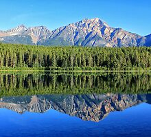 Pyramid Mountain Reflection by Charles Kosina