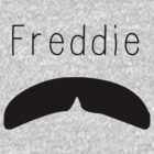 Freddie Mercury Mustache Art by geekchicprints