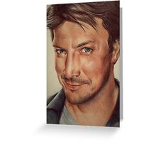 Richard Castle Greeting Card