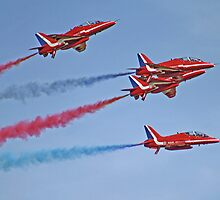 The Red Arrows - Duxford Spring Airshow 2013 by Colin  Williams Photography