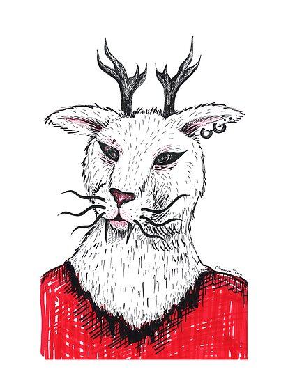Hybrid in Red by wetkangaroo