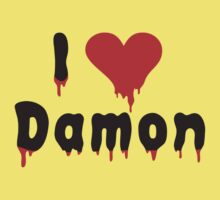 i love Damon by monkeybrain