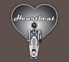 Drummer Heartbeat decoration Clothing & Stickers by goodmusic