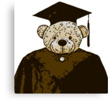 Graduate Bear Canvas Print