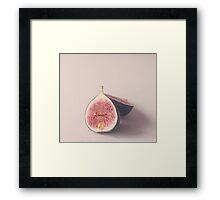 Pastel Figs Framed Print