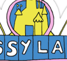 sassyland Sticker