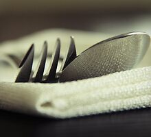 Fork and Spoon by Caroline Fournier