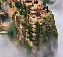 The flying monastery-Meteora by Hercules Milas