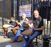Drumming For Charity by Fara