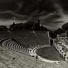 Ostia theatro by Ranald
