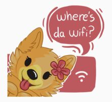 Pom Gets Wifi- Where's da wifi? by Chervyl
