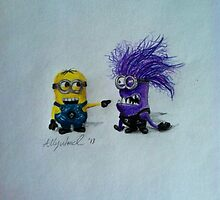 Despicable Me 2 Minions by Ally Ward