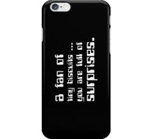 a fan of tiny biscuits iPhone Case/Skin
