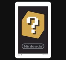 Question Mark AR Card - Nintendo 3DS by SqueegeeLuigi