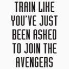 Train like - Avengers by keirrajs