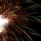 Ultra Violet Fireworks by Peter Gray
