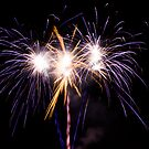 Three Big Fireworks by Peter Gray