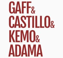 Gaff & Castillo & Kemo & Adama - Red by olmosperfect