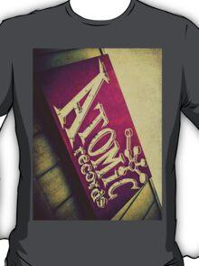 Atomic Records Vintage Sign T-Shirt
