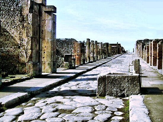 Pompeii by Polly Peacock