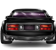 Modified Black Datsun Z by Seruki