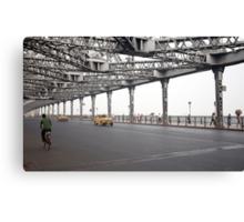 The Howrah Bridge Canvas Print