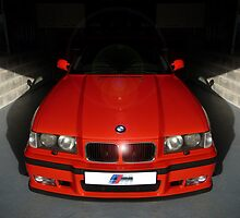 M3 E36 Mugello Red Garage by Picshell80