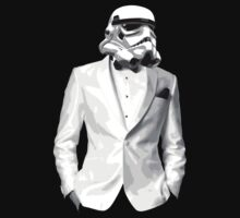 Sharp Dressed Stormtrooper by David Ayala