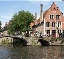 Brugge Bridges. by Janone