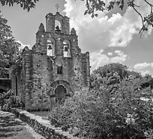 Mission Espada -  San Antonio Texas USA by TonyCrehan