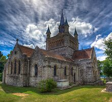 St Mildreds Church IOW by manateevoyager