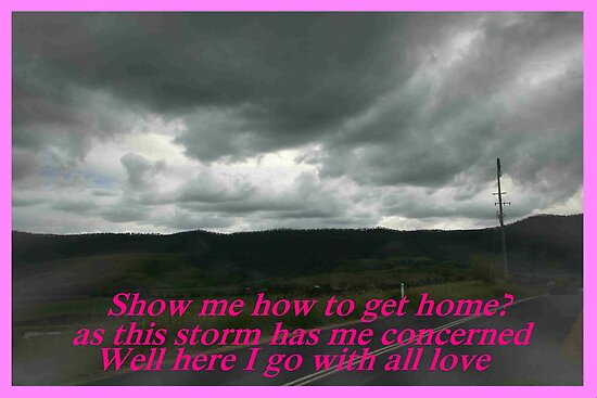 """Show me they way to go home"" by Norma-jean Morrison"
