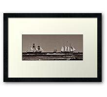 """""""Bon Voyage"""" Framed Print"""