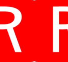Red Ribbon Army logo Sticker