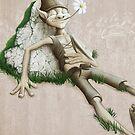 Relaxed elf by jordygraph