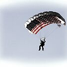 Patriotic Skydiver by CarolM